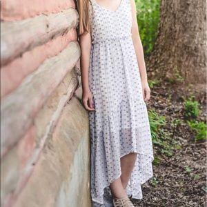 Francesca's Hi-Lo Maxi Dress